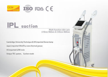 China Beauty Salon Diode Laser Hair Removal Machine IPL / SHR Technology With LCD Display supplier