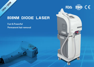 China CE Approved 808nm Diode Laser Hair Removal Machine Macro Channel Laser supplier