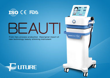 China Hifu High Intensity Focused Ultrasound Machine , Hifu Facelift Treatment 4mm Depth supplier