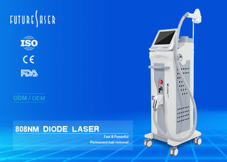 China TEC Cooling 808nm Diode Laser Hair Removal Machine 500W Power 10 Bar Laser FJ500A supplier