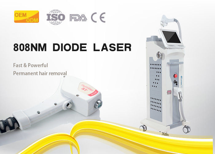 High Frequency 10hz 808nm Diode Laser Hair Removal Machine 10
