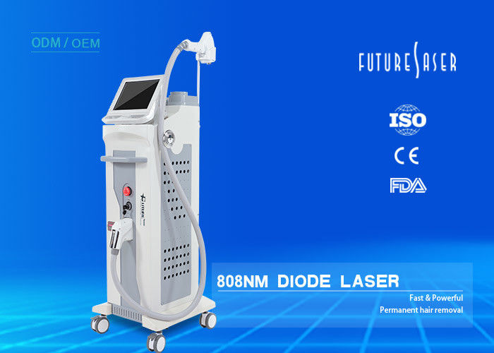 808nm Diode Laser For Hair Removal Permanent Hair Removal Laser Machine Extended Working Life