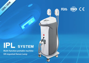 China High Power IPL Skin Hair Removal Machine , Laser Hair Removal Kit Pressure 4 MPa distributor