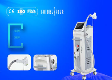 China Big Spot Size Facial 808nm Diode Laser Hair Removal Machine 10ms - 400ms Pulse Duration distributor