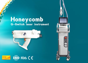 China Powerful Honeycomb Laser Tattoo Removal Machine / Pore Removal Laser CE Approval distributor